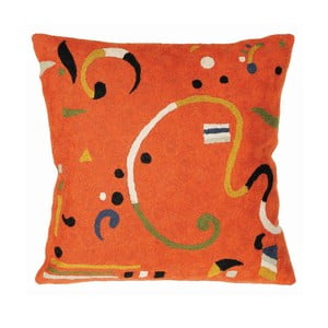 Obliečka na vankúš Orange Ribbon, 45x45 cm