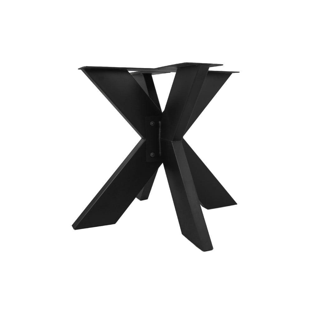 Čierne kovové podnožie k jedálenskému stolu HMS collection, ⌀ 90 cm