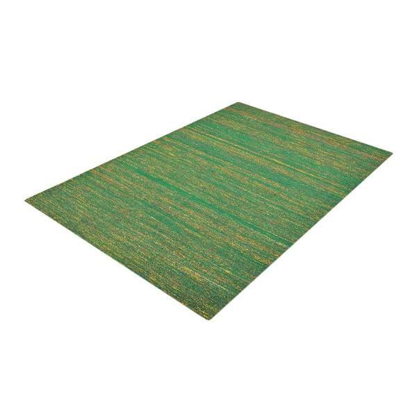 Ručne tkaný koberec Kilim Sari Silk Green, 140x200 cm