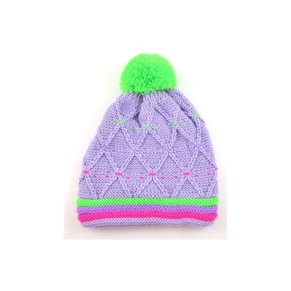 Dievčenská čiapka Neon Light Purple