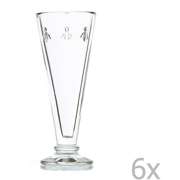 Sada 6 pohárov Abeille, 150 ml