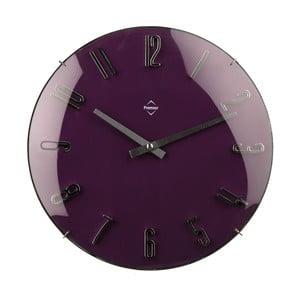 Nástenné hodiny Purple, 41 cm
