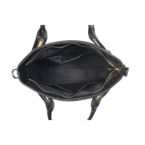 Kožená kabelka Mood Glam Black