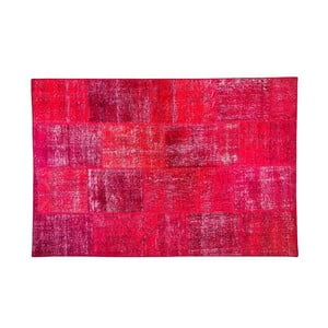 Vlnený koberec Allmode Red, 150x80 cm