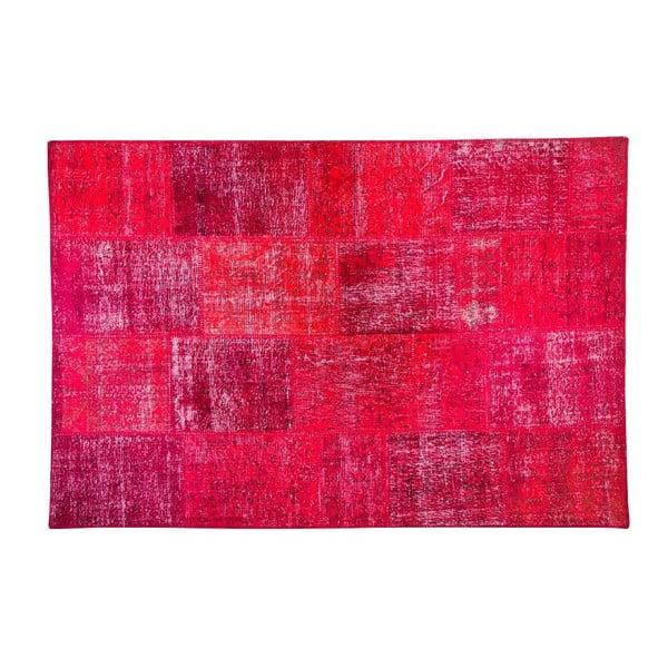 Vlnený koberec Allmode Red, 180x120 cm