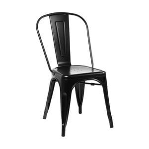 Čierna stolička D2 Paris