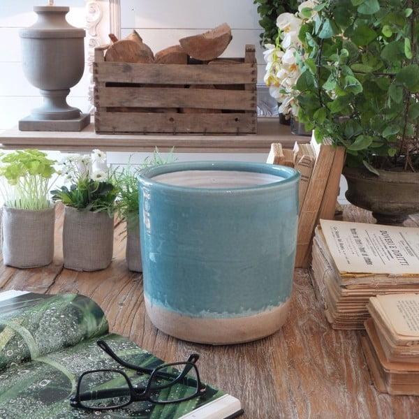 Kvetináč Turquoise Raw