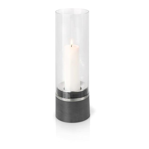 Svietnik Blomus Piedra vrátane sviečky, 47 cm