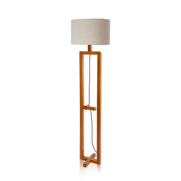 Stojacia lampa Dal White Walnut