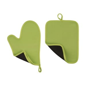 Zelená neoprénová chňapka a podložka Premier Housewares