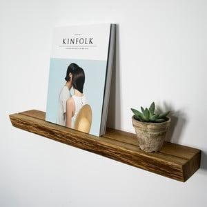 Polica NUTSANDWOODS Book, 9x40x4 cm