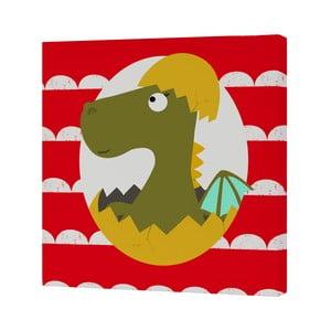 Nástenný obrázok Little Dragon, 27x27 cm