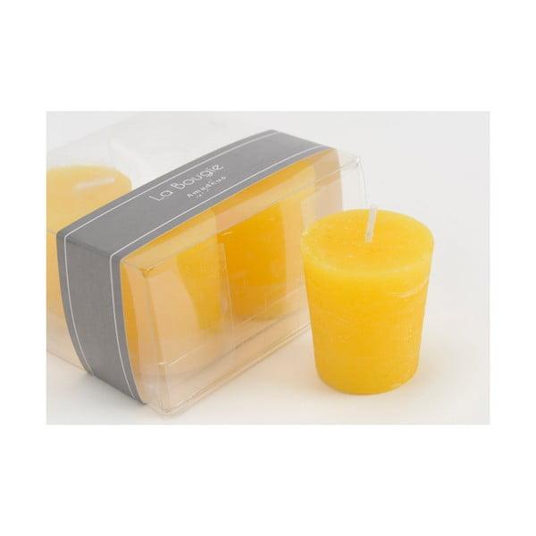 Sada 4 sviečok Honey