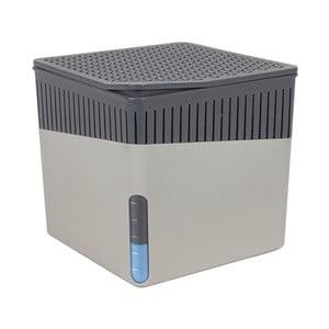 Sivý odvlhčovač vzduchu Wenko Cube, 500 g