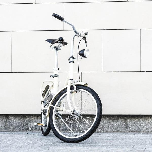Skladací bicykel Dude Bike Top, biely
