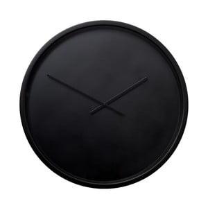 Čierne nástenné hodiny Zuiver Time Bandit