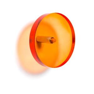Oranžový háčik na kabáty Acrylic