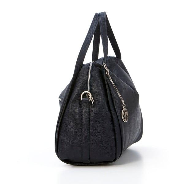 Kožená kabelka Riccardo, tmavo modrá