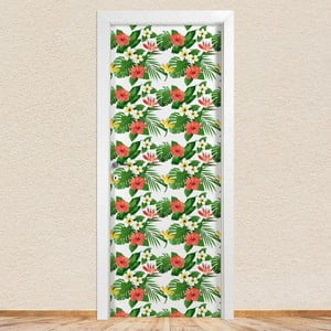 Samolepka na dvere LineArtistica Eloisa, 80×215cm