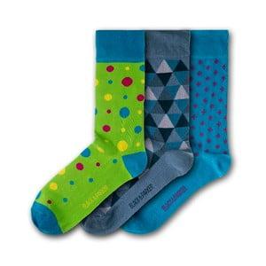 Sada 3 ponožiek Black&Parker London Pine Lodge, veľkosť 37 – 43