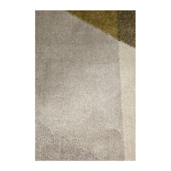 Koberec so zelenými detailmi Kokoon Muoto, 160×230 cm