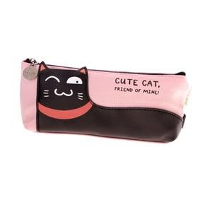 Ružový peračník Languo Lazy Cat
