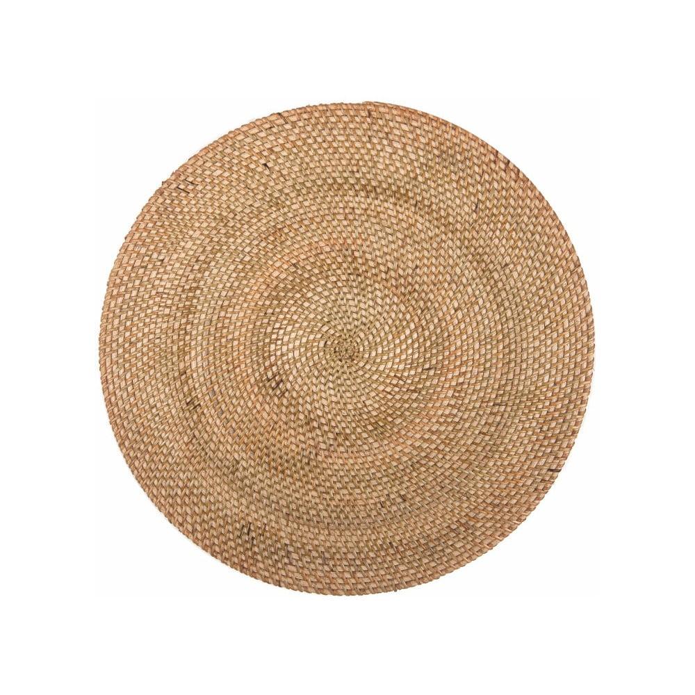 Prírodné ratanové prestieranie Tiseco Home Studio, ⌀ 36 cm