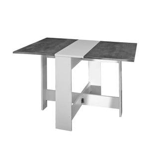 Sivo-biely rozkladací stôl 13Casa Trick