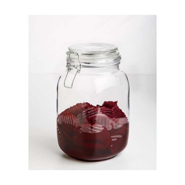 Pohár Glass Jar, 1500 ml