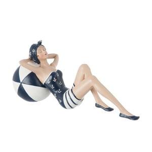 Dekoratívny objekt Lying Woman in Swimsuit