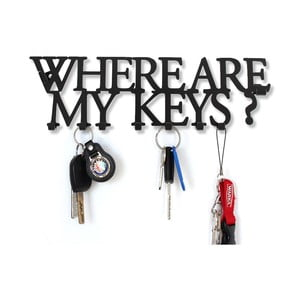 Vešiak na kľúče  Where Are My Keys