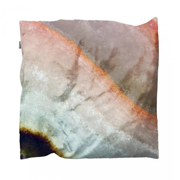 Ružová obliečka na vankúš Snurk Mineral, 50 x 50 cm
