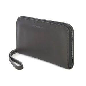 Tmavosivá kabelka listová kabelka z talianskej kože Tucano Sicuro