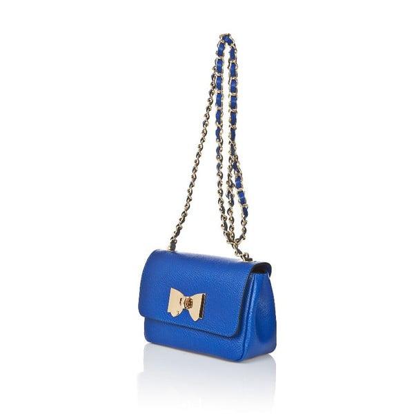 Kožená kabelka Bow Blue