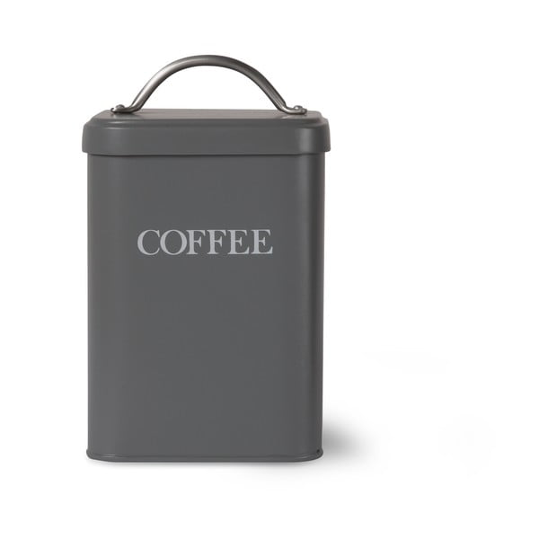 Box na kávu Garden Trading Coffee Canister In Charcoal