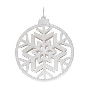 Biela závesná dekorácia Ewax Copo