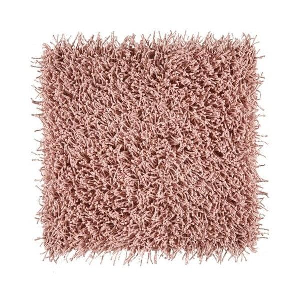 Ružová kúpeľňová predložka Aquanova Taro, 60 x 60 cm