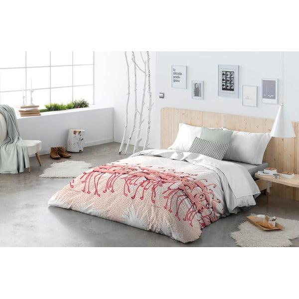 Obliečky Flamingo Flock Pink, 200x200 cm