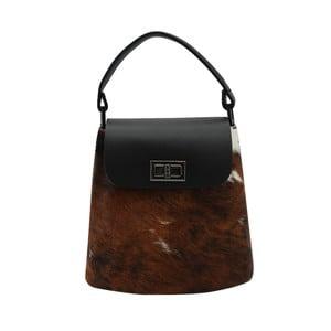 Vzorovaná kabelka z pravej kože Andrea Cardone Spotted