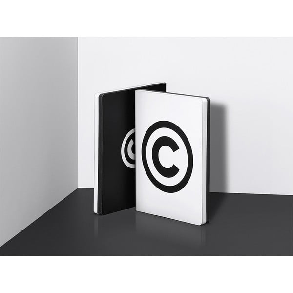 Zápisník Nuuna Copyright, veľký