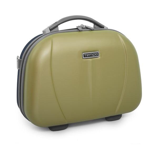 Kozmetická cestovná taška Tempo, zelená