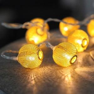 Svetelná reťaz  Best Season Wire Copper, 10 svetielok
