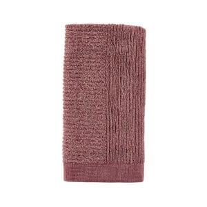 Ružový uterák Zone Classic, 50 x 100 cm