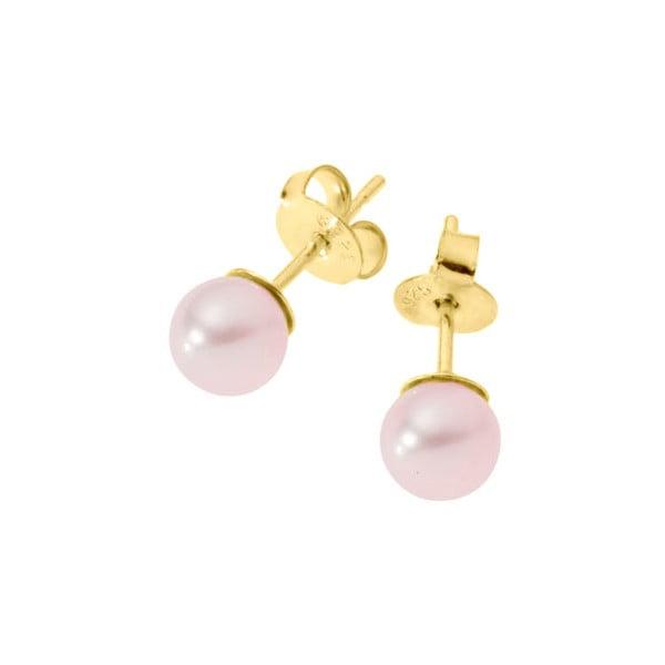 Náušnice Pearls Pink