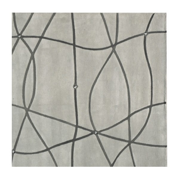Koberec Map Grey, 170x240 cm