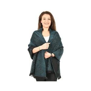 Bavlnená deka Bonita Petrol, 180×60 cm