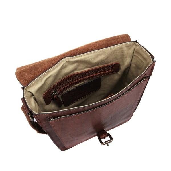 Unisex kožená taška Bourne Vintage Treacle