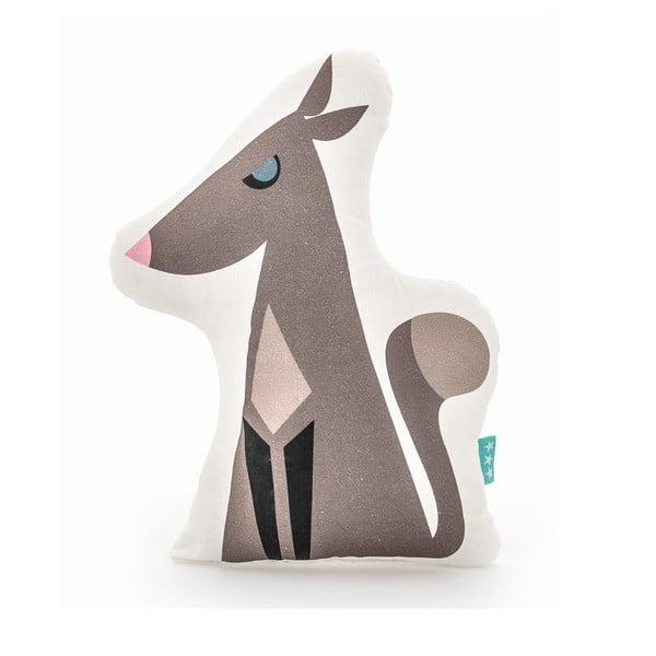 Bavlnený vankúšik Mr. Fox Wolfie, 40 × 30 cm