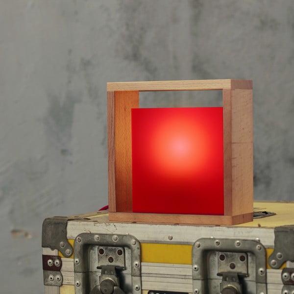 Stolová lampa Vitamin, červená