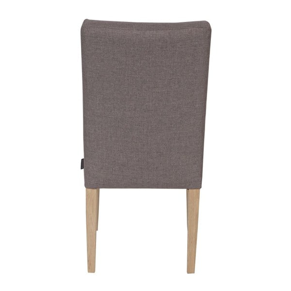 Sada 2 drevených stoličiek Tijmen Taupe Oak